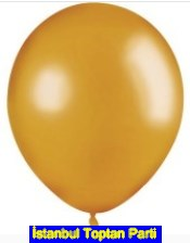 Bask�s�z 12 inc Gold Alt�n Metalik balon