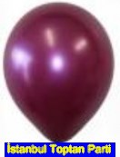 Bask�s�z bordo balon 12 inc balon